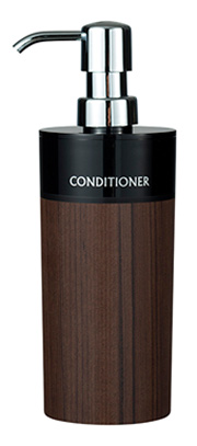 WOODY 丸型 黒 ウォルナット コンディショナー 16-454497