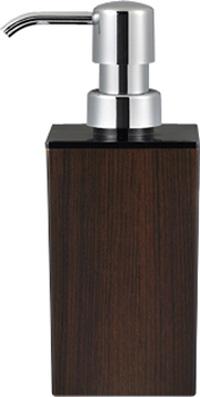 WOODY角型小ハンドソープ黒ウォルナット 13-450260